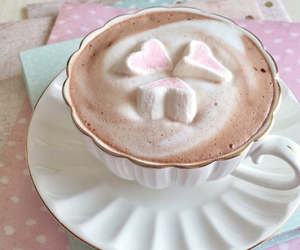 cacao, coffee, and marshmallows image