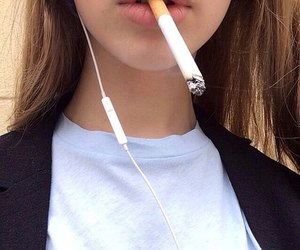 aesthetic, cigarette, and grunge image