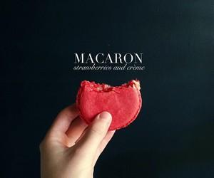 food, macaron, and sweet image