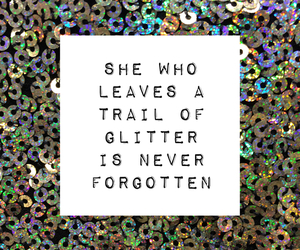 quotes and glitter image