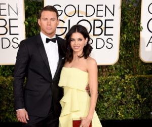 channing tatum, jenna dewan, and red carpet image