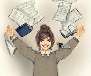 girly_m, art, and school image