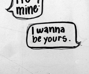 arctic monkeys, i wanna be yours, and r u mine image