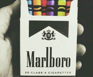 marlboro, cigarette, and colors image