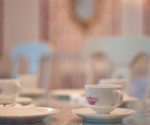 tea party, teacups, and vintage image