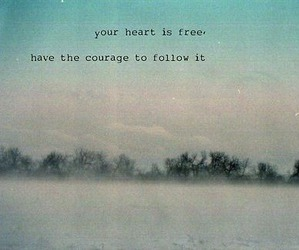 heart, free, and quote image