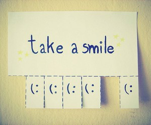 always, happy, and smile image