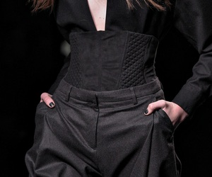 fashion, classy outfit, and gothic design image