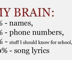 song lyrics, true fact, and teenage stuffs image