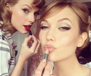 Taylor Swift, Karlie Kloss, and model image