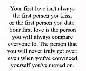 first love and love image
