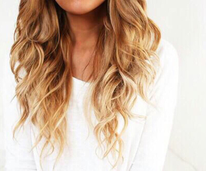 beautiful, ombre, and blonde image