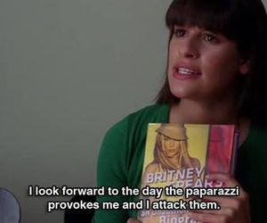 glee, rachel berry, and lea michele image