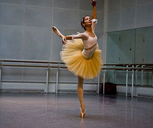 ballerina, ballet, and ballerine image