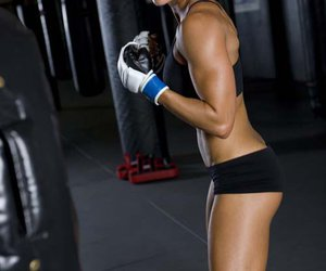 fitness, kick boxing, and sport image