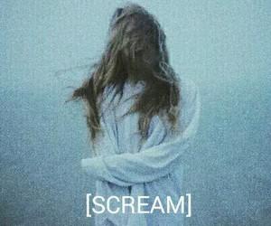 scream, grunge, and girl image
