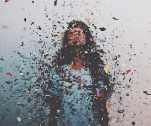 girl, grunge, and colors image