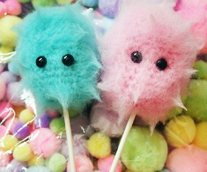 sweet, cotton candy, and cute image