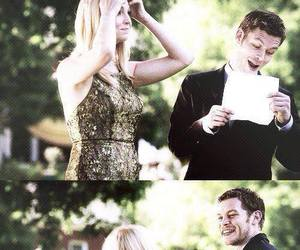 tvd, klaroline, and klaus image
