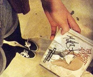 cd, tonight alive, and signed image