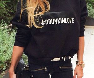 fashion, style, and drunkinlove image