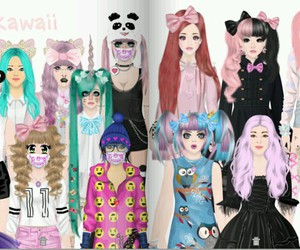 anime, doll, and dolls image