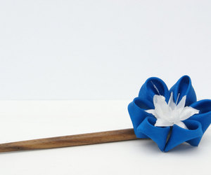 blue, etsy, and flower image