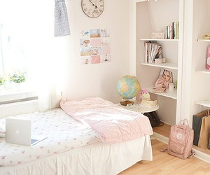 room, sweet, and white image