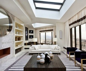 modern, pretty, and rooms image