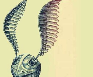 always, the golden snitch, and hp image