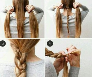 braid, do it yourself, and hair style image