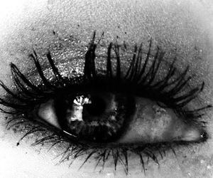girl, eye, and sad image