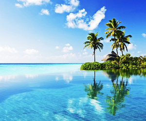 beach, gorgeous, and luxury image