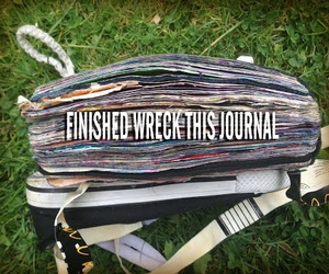 finished and wreckthisjournal image