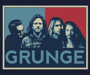 grunge, alice in chains, and nirvana image
