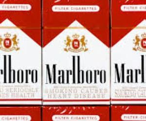 cigarette, marlboro, and grunge image