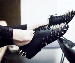 black, details, and shoes image