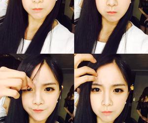 girl, hyunyoung, and hair image