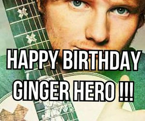 birthday, green, and ed sheeran image