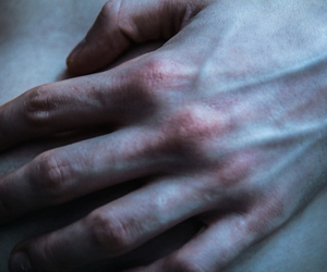 hands, pale, and skin image