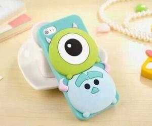 Bleu, green, and iphone image