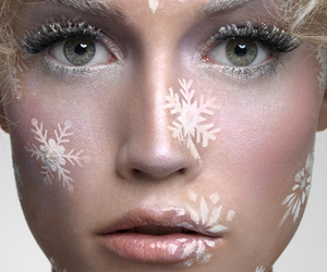 art, beauty, and model image