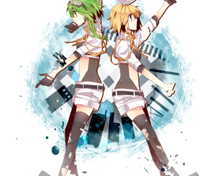 anime girl, invisible, and gumi megpoid image