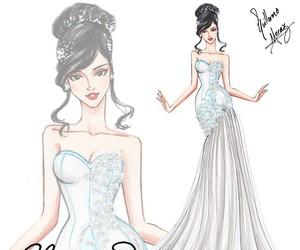 fashion, bride, and design image