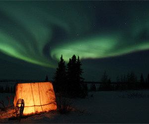 aurora borealis, aurora boreal, and nature image