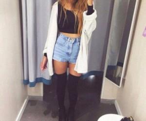 beautiful, girl, and fashion style image