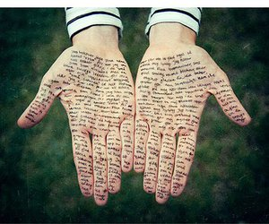 hands, photography, and writing image