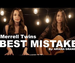 cover, singing, and twins image