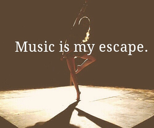 dance, painkiller, and music is my escape image