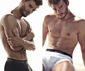 Jamie Dornan, fifty shades of grey, and grey image